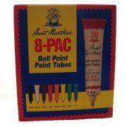 set of aunt martha's ballpoint tube paint - set of 8 paints $23.95 free shipping