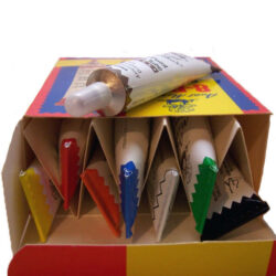 set of 8 aunt martha's ballpoint paint tubes new in box $23.95 free shipping