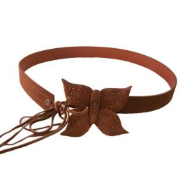leather belt with butterfly by Valerie Stevens $7 with free shipping