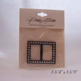 rectangular black swarovski belt buckle $2.95 free shipping