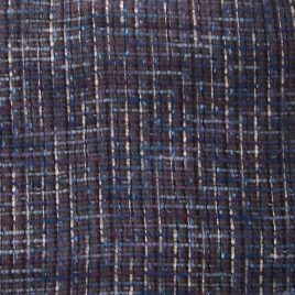 brown and blue stripe boucle fabric for your next perfect jacket. $9.95 per yard with free shipping