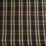 black olive rust plaid boucle fabric $9.95 per yard with free shipping