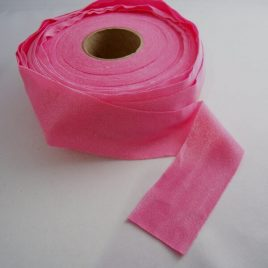 stretchy tricot lycra binding in pink for sale