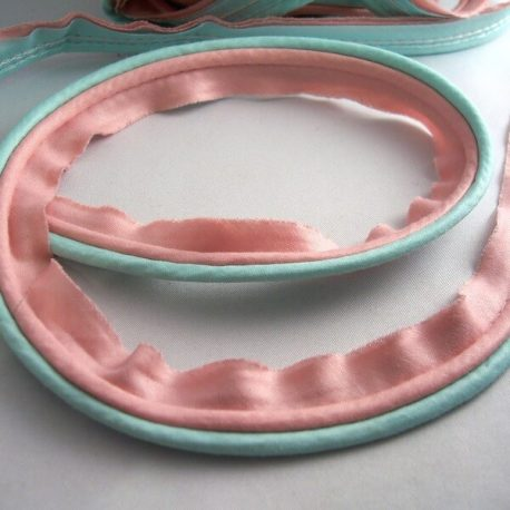 blue and pink piping trim 5 yards for $7.95 free shipping