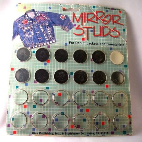 mirrors for shishi or embellishing fabric