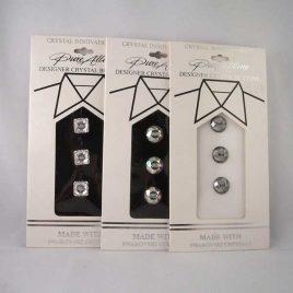 swarovski cyrstal buttons