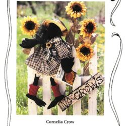 cloth doll pattern of cornelia crow for sale $4.95 with free shipping