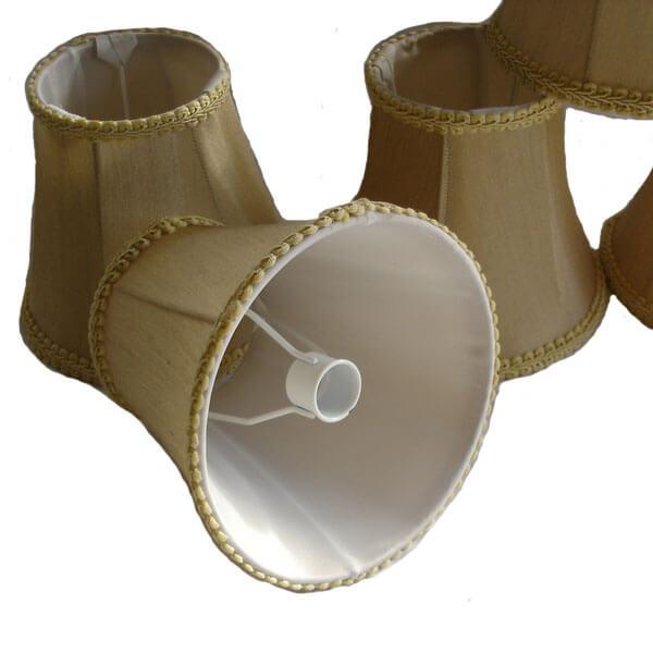 chandelier lamp shades set of 5 25 00 mini lamp shades for chandelier. Black Bedroom Furniture Sets. Home Design Ideas