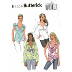 Butterick 4454 gathered empire top pattern $4.95 with free shipping