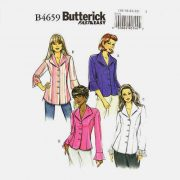 Butterick 4659 Misses Shirt Pattern Princess Style Sizes 8 - 22 - 4.95 with free shipping