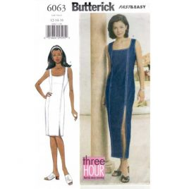 Butterick 6063 Fitted Sheath Dress Pattern Sizes 12-14-16 - $4.95 with free shipping