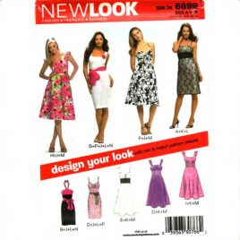 New Look 6699 Fitted Sundress Sizes 8 – 18