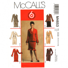 mccalls 4653 jacket skirt sewing pattern
