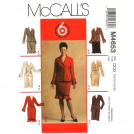 mccalls 4653 jacket skirt sewing pattern