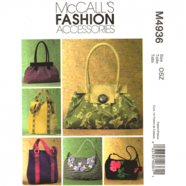 mccalls 4936 handbag sewing pattern