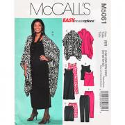 mccalls 5061 plus size sportswear sewing pattern