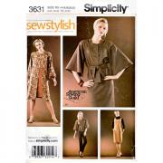 simplicity 3631 sportswear sewing pattern