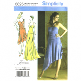 simplicity 3825 strappy dress sewing pattern