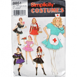 simplicity costume sewing pattern