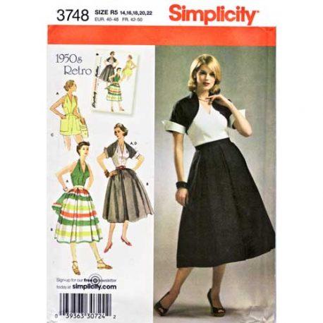simplicity 3748